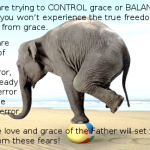 Freedom Doesn't Come From Balancing Grace