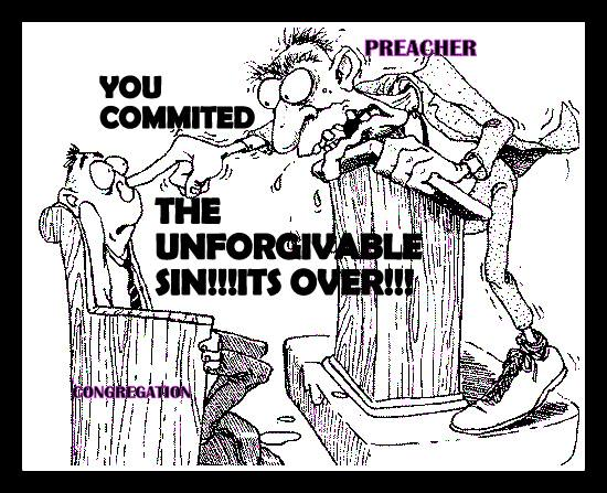 You committed the unforgivable sin - its over