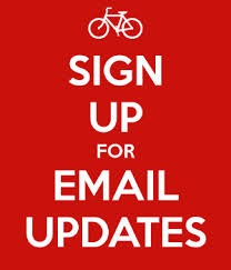 Sign up for email updates