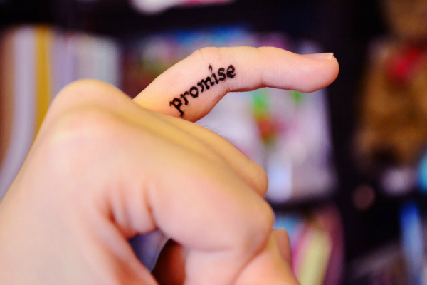 Be A Promise-Receiver And Not A Promise-Keeper1
